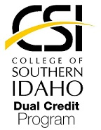 College of Southern Idaho Dual Credit Program